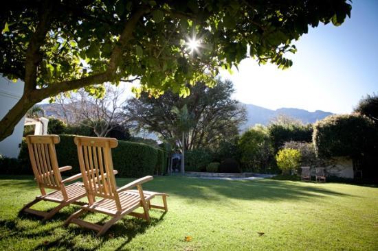 garden picture of avondrood guest house franschhoek tripadvisor rh tripadvisor co za