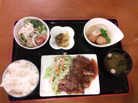 Hotel Station Kyoto Nishikan: ステーキ定食