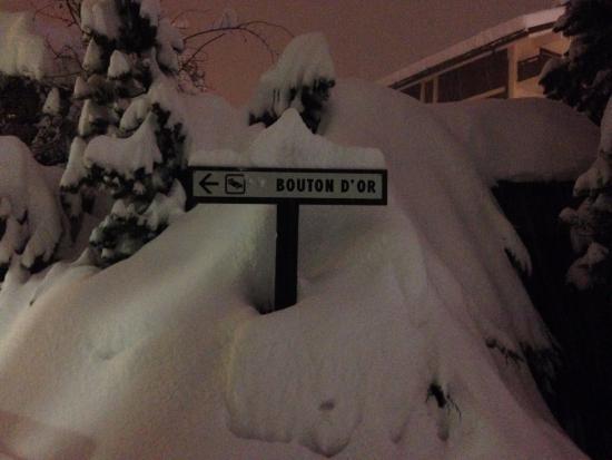 Hotel Bouton d'Or: .....un week end nevoso!!!