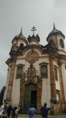 Sao Francisco de Assis, RS: Igreja de São Francisco de Assis -Ouro Preto - MG