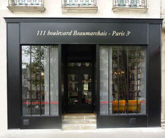 Photo of Restaurant Used Book Cafe at 111 Boulevard Beaumarchais, Paris 75003, France