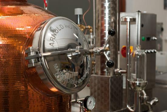 Eimverk Distillery: Our whisky still