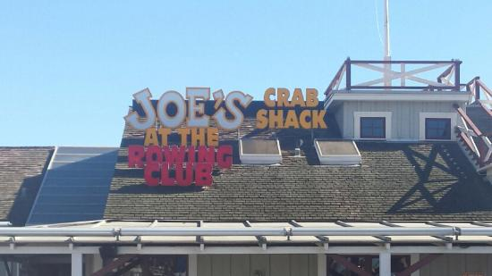 joe s crab shack is a inside a stilt house aside the embarcadero rh tripadvisor co nz