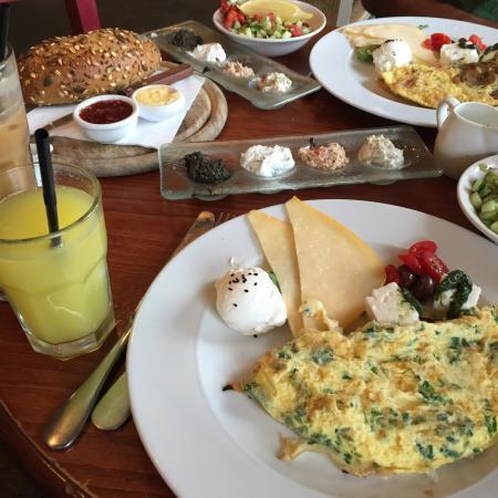 Great Israeli breakfast