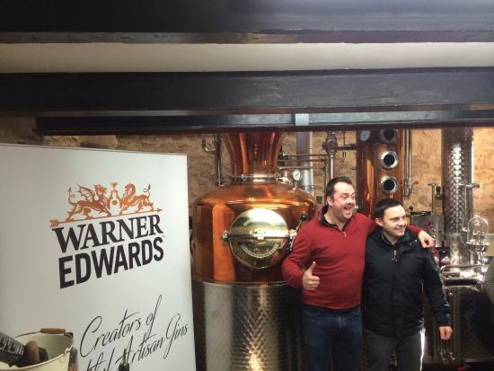 Warner Edwards Gin Distillery