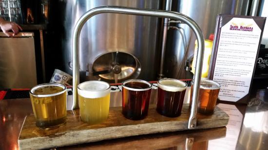 Food And Drink: Santa Barbara Brewing Sample