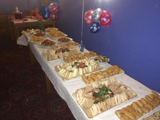 40th Birthday Celebration With A Well Selected Buffet
