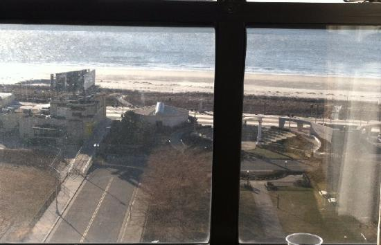The Claridge A Radisson Hotel View From Vintage Oceanfront Room 12th Floor