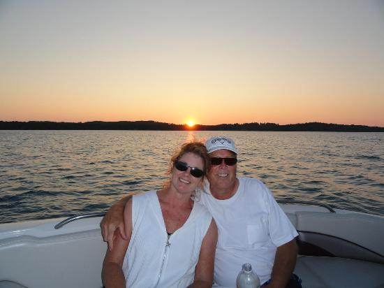 Torch Lake Bed & Breakfast: Take a romantic Sunset Cruise