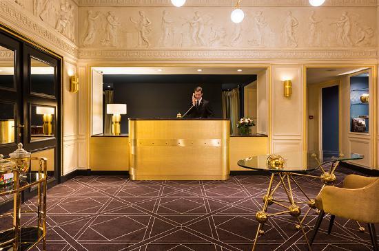 Hôtel Barsey by Warwick : Reception