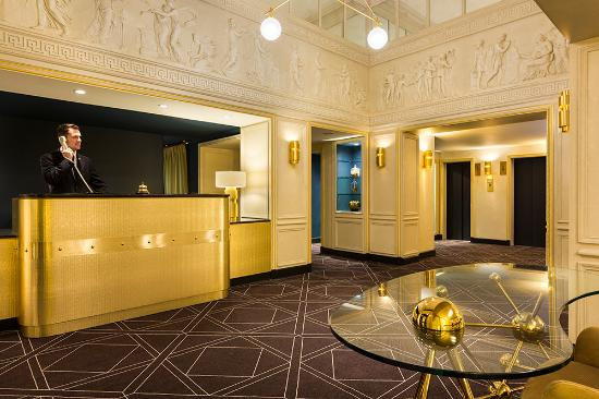 Hôtel Barsey by Warwick : Reception 2