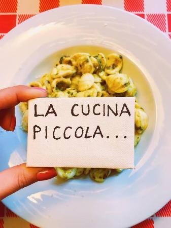 La cucina piccola fa la casa grande\' - Picture of Verona-Barcelona ...