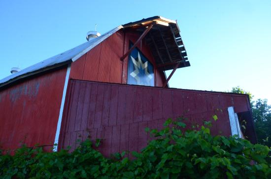 New Prague, MN: Red Barn at Next Chapter Winery
