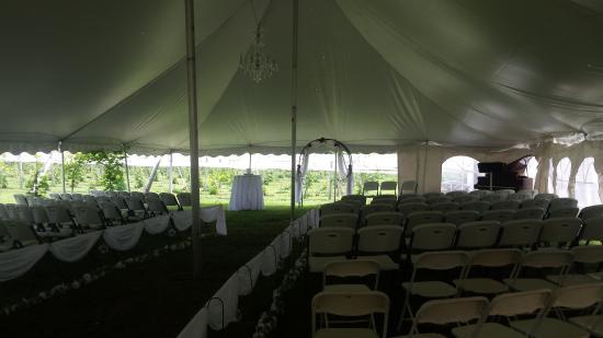 New Prague, MN: Ceremony under the Tent