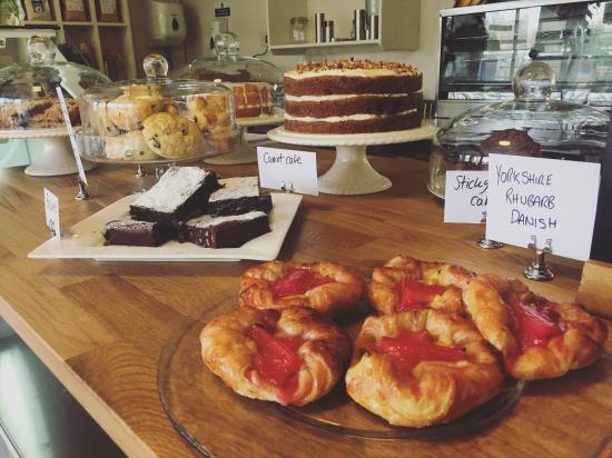 Graze on the Green: Homemade cakes and pastries