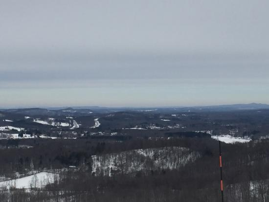 Flat Top, Virginia Occidentale: From the top of the hill