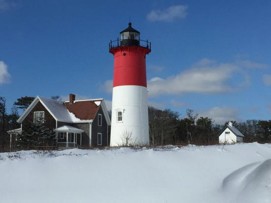 Photo of Lighthouse Nauset Light at 2 Nauset Light Beach Rd, Eastham, MA 02642, United States