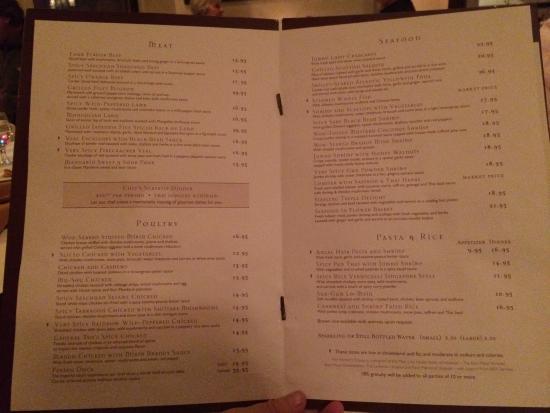 Bryn Mawr, Пенсильвания: menu