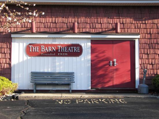 Stage Door Picture Of The Barn Theatre Montville