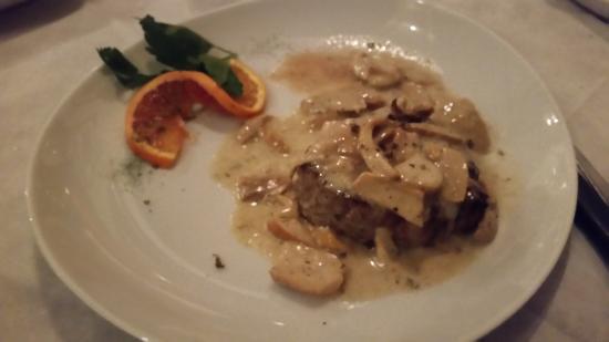 Locanda Gallehus: Filetto al tartufo