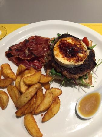 Restaurante A320 By Vueling: Amburguza
