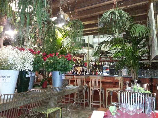 le restaurant ou la boutique du fleuriste - photo de café des