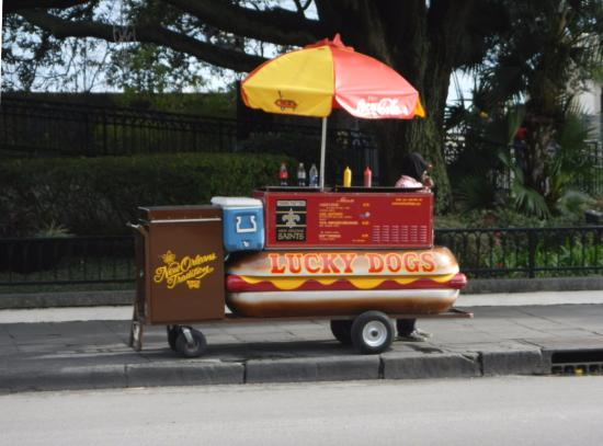 Lucky dog cart  - Picture of Lucky Dogs, New Orleans - TripAdvisor