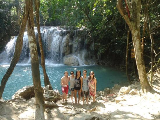 photo2.jpg - Picture of Erawan Falls, Erawan National Park ...