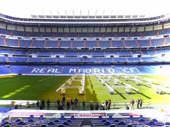 Patrim nio vencedor picture of stadio santiago bernabeu for Estadio bernabeu puerta 0