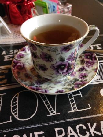 Sweetea's Tea Shop: Hot lavender tea