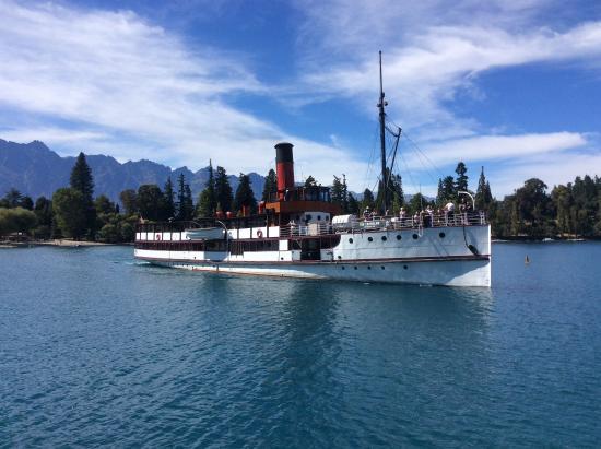 Queenstown, Nova Zelândia: TSS Earnslaw