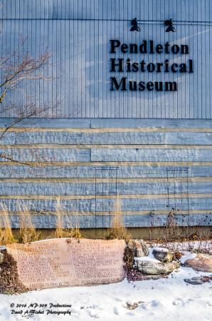 Pendleton Falls Park: A very worthwhile place to visit; the history of Pendleton and the surrounding area is on displa