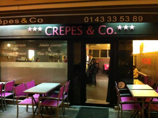 Crepes & Co: la façade