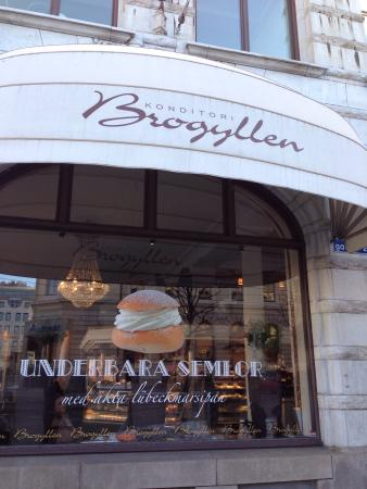 Brogyllen