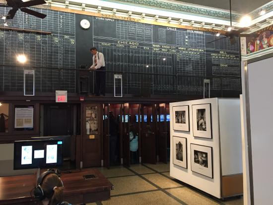 The Cotton Museum at the Memphis Cotton Exchange : Interior of the trading room 2