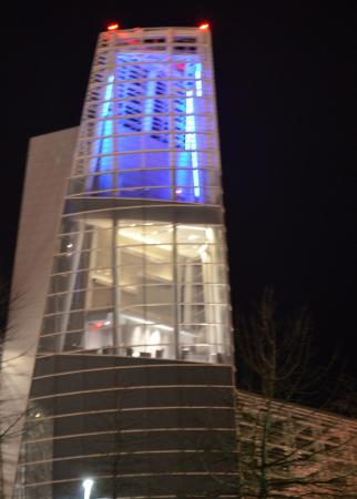 The Virginia Beach Convention Center: Quite stunning at night when lit up