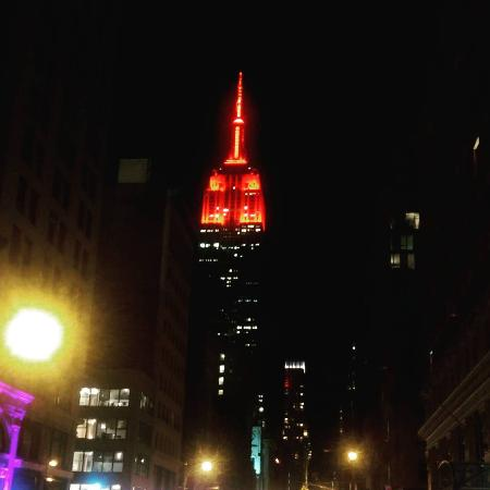 valentine's day colors - picture of empire state building, new, Ideas