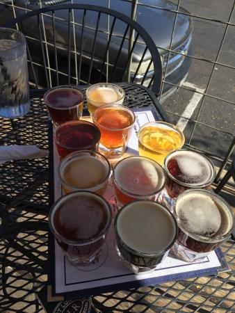 Blue Star Brewing Company: The flight of all 12 beers