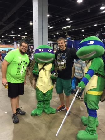 TMNT Photo - Donald E  Stephens Convention Center, Rosemont