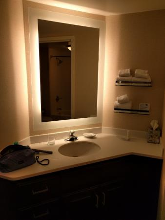 vanity separate from the toilet and shower picture of residence rh tripadvisor co uk