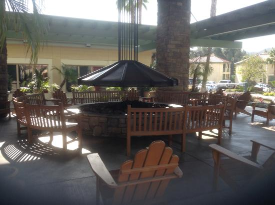 fire pit and gathering area near the pool and recreation building rh tripadvisor ca