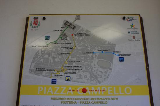 Percorso Meccanizzato Ponzianina-Rocca: piazza
