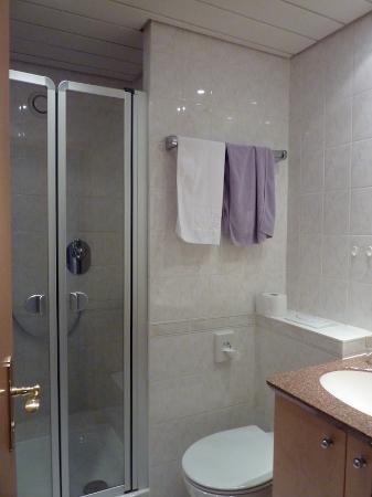 Petite salle de bains, mais nickel - Bild von Hotel Restaurant ...