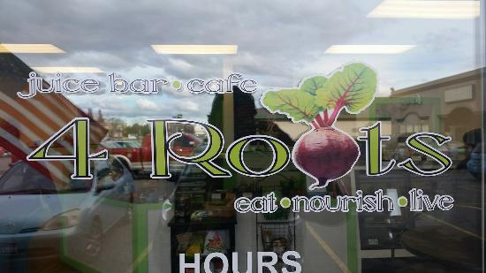 ‪4 Roots Juice Bar and Cafe‬