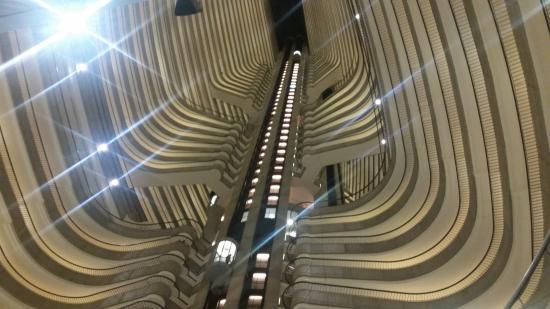 Atlanta Marriott Marquis Inside Hotel Lobby