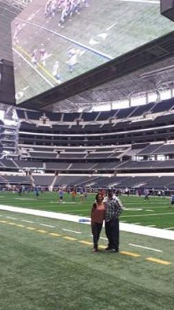 campo de juego picture of at t stadium arlington tripadvisor rh tripadvisor com