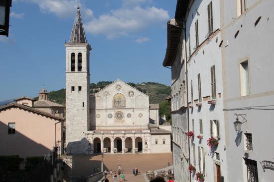 Spoleto, Italy: Кафедральный собор в Сполето (Умбрия).