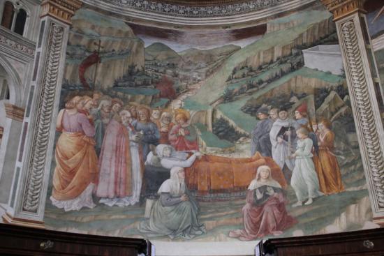 Spoleto, Italy: Успение Девы Марии - работа великого мастера Кватроченто Фра Филиппо Липпи.