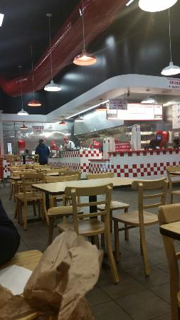 Five Guys 17 Of 106 Restaurants In Blue Springs