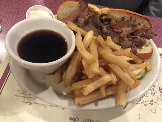 Middletown, Pensylwania: prime rib sandwich